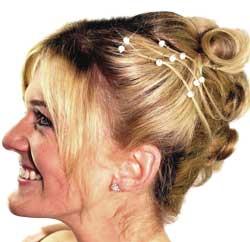 Brautfrisuren schulterlanges haar