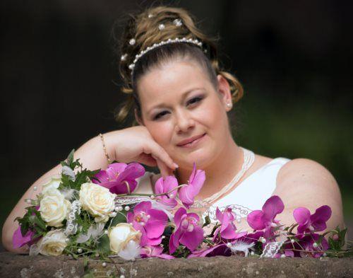 Brautfrisuren mit curlies