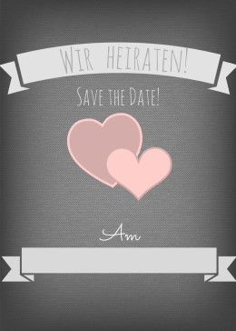 save the date karten hochzeit. Black Bedroom Furniture Sets. Home Design Ideas